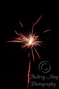 Red Fireworks 1