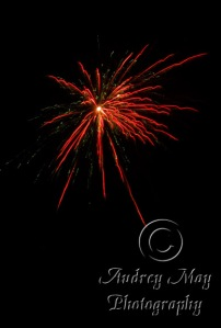 Red Fireworks 2