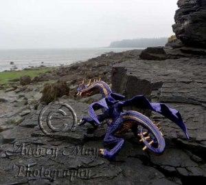 Daemon Overlooking The Sea