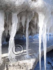 Icicles at the Beach
