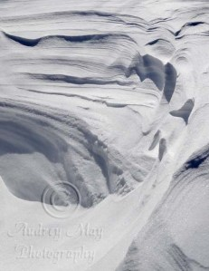 Snow Drift Abstract Art 2