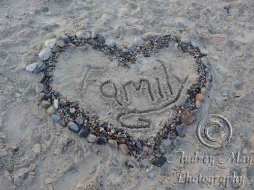 Beach Art - Family