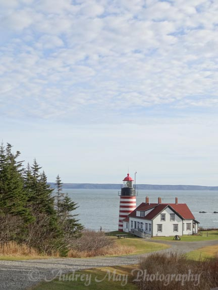 Quoddy Head Light, Christmas 2015