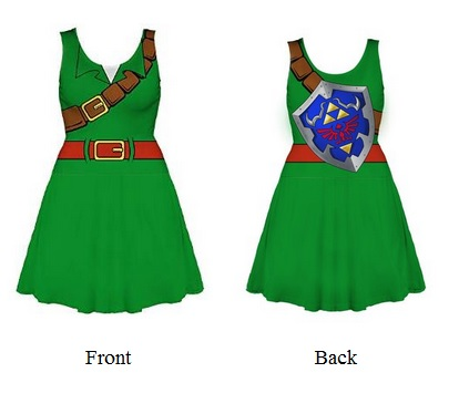 Link Cosplay Dress
