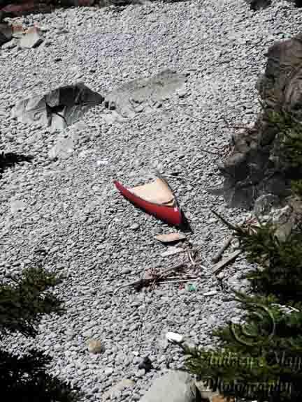 Half a Canoe